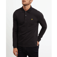 POLO-SHIRT-LONG-Black