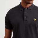 Plain Polo Shirt Nera